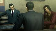 Kiryu tells Kashiwagi and Nishiki about his decision
