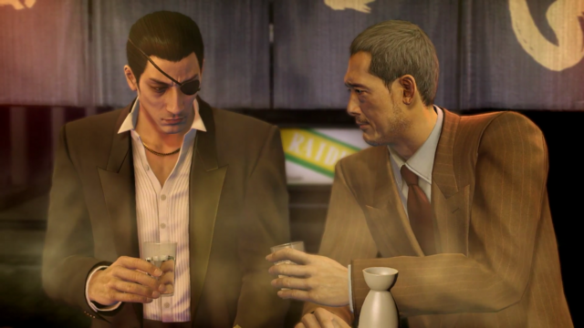 File:Majima refuses to bump Sagawa's drink before listening his deal.png