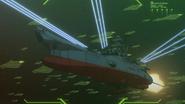 Yamato Blasts Balun Fleet