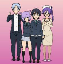 Masako and her family