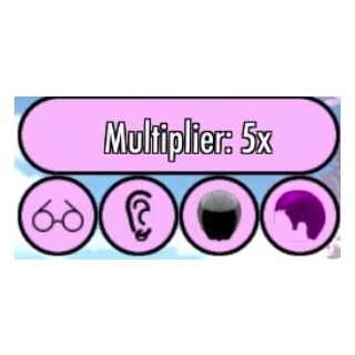 5x multiplier, all desired traits.