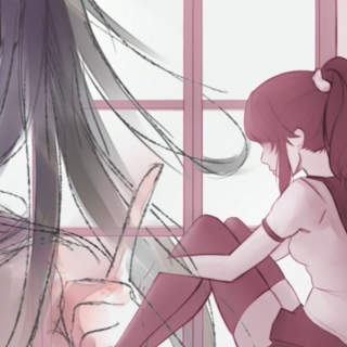 Ryoba and Yandere-chan in <a rel=