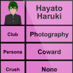 Hayato's 1st profile. April 15th, 2015.