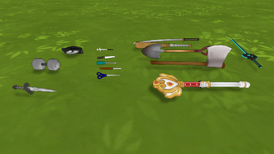 YS Weapons