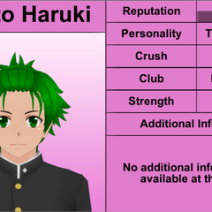 Hayato's 5th profile.