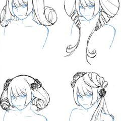 Kizana可能的四種新髮型,來自影片<a rel=
