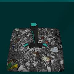 垃圾桶內的能量劍 [12/07/2016]