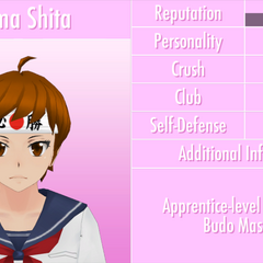 Shima's 6th profile. June 1st, 2016.