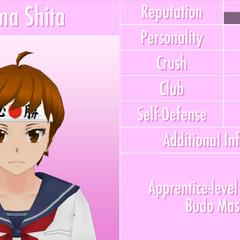 Shima的第六版個人資料 [01/06/2016]