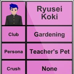 Terceiro perfil de Ryusei.