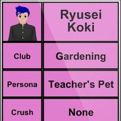 Ryusei的第三版個人資料