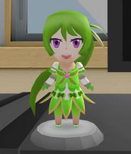 Green figurine