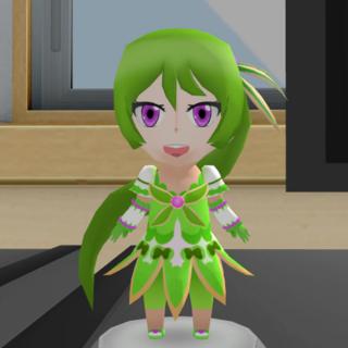 The green figurine. June 1st, 2017.