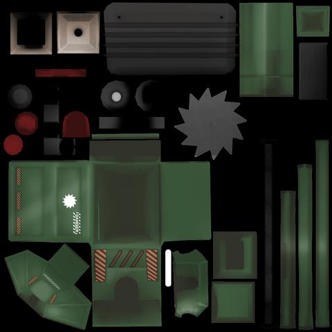 來自遊戲文件的碎木機材質