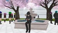Senpai Reading His Book