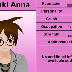Natsuki Anna's 7th profile. April 4th, 2016.