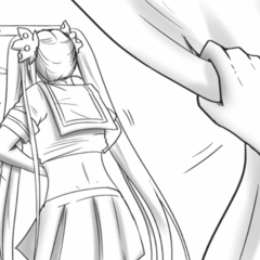 Osana changing clothes in <a rel=
