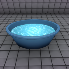 Bucket with water. February 21st, 2016 (Version 2).