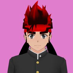 Primeiro retrato de Ryuto.