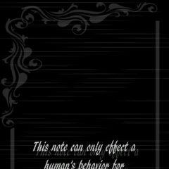 <i>Life Note</i> 卷5的背面