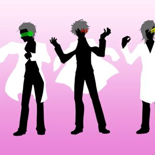 A silhouette of Robot-chan shown on the far right.