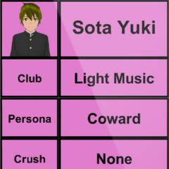 Sota's 1st profile. April 15th, 2015.