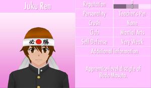 6-1-2016 Juku Ren Profile