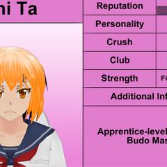 Shima的第二版個人資料