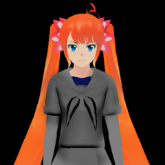 A WIP Osana, shown on Druelbozo's DeviantArt.