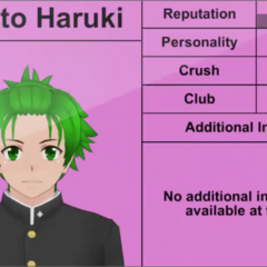 Hayato's 4th profile.