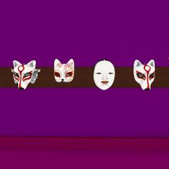 The masks. May 19th, 2017.