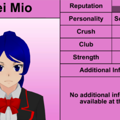 Mei's 9th profile. February 17th, 2016.