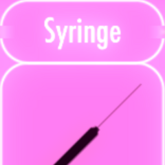 1/3/16. Sprite art for syringe.