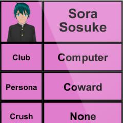 Sora's 1st profile. April 15th, 2015.