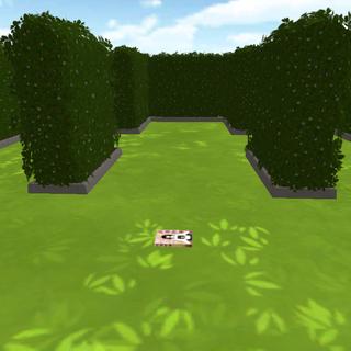 The center of the maze with <i>Yokai Story: Volume 1</i> on the ground.