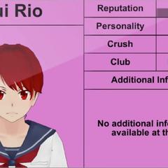 Terceiro perfil de Yui.