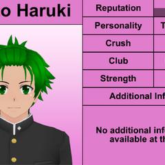 Sétimo perfil de Hayato.