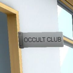 Occult Club Sign. July 12th, 2016.