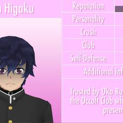 Shin's 4th profile. June 1st, 2016.