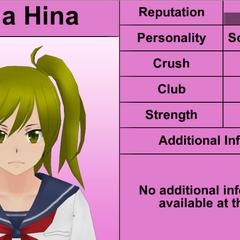 Yuna's 7th profile. February 8th, 2016.
