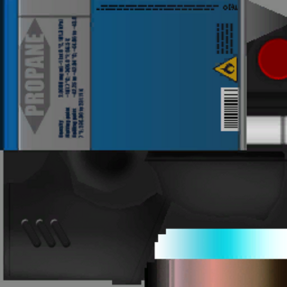 遊戲文件裡的噴火槍的紋理