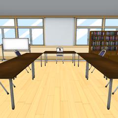 學生會室與Megami的舊模型 [01/01/2016]