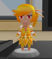 Yellow figurine