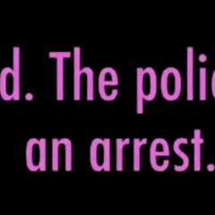 The police unable to arrest the mind-broken slave.