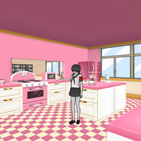Main kitchen.