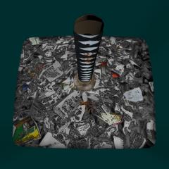 垃圾桶內的武士刀 [15/03/2016]