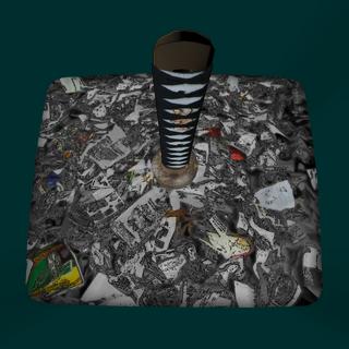 垃圾桶裡的武士刀 [05/03/2016]