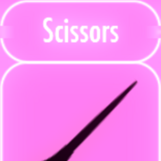 January 3rd, 2016. Sprite art for a pair of Scissors.