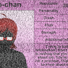 Info-chan's third profile.