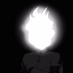 火焰惡魔交叉雙臂